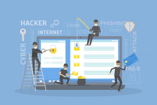 phishing computer, personal details, hacking