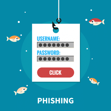 phishing with password
